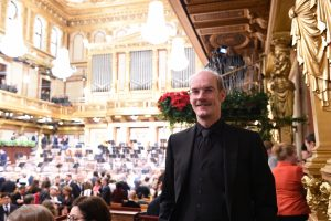 At the 'Voraufführung' of the Vienna New Year's Concert 2017